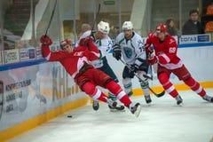 Spartak en avant tombe vers le bas Image libre de droits