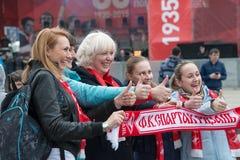Spartak meilleur images stock