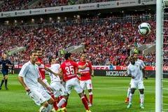 Spartak 2-2 Oefa 17 07 15 Stock Foto's