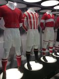 Spartak stadium museum, Moscow. Royalty Free Stock Photography
