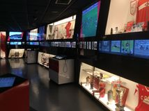 Spartak stadium museum, Moscow. Stock Photos