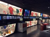 Spartak stadium museum, Moscow. Royalty Free Stock Images
