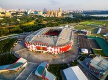 Spartak Stadium Otkritie Arena em Moscou Foto de Stock Royalty Free