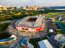 Spartak Stadium Otkritie Arena in Moscow Royalty Free Stock Photo