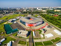 Spartak Stadium Otkritie Arena in Moscow Stock Photography