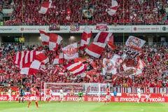 17/07/15 Spartak 2-2 Ufa Στοκ Εικόνες