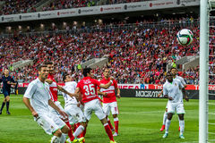 Spartak 2-2 Ufa 17 07 15 Stockfotos