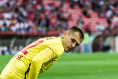 17/07/15 Spartak 2-2 Ufa Artyom Rebrov Στοκ εικόνα με δικαίωμα ελεύθερης χρήσης