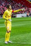 17/07/15 Spartak 2-2 Ufa Artyom Rebrov Lizenzfreies Stockbild