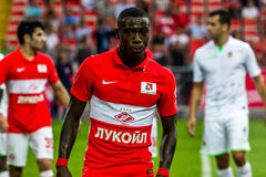 17/07/15 Spartak 2-2 Ufa-Spielmomente Stockfotografie
