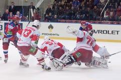Spartak under atack Stock Photos
