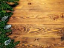 Spartakken op de houten raad Kerstmis en Nieuwjaarachtergrond royalty-vrije stock foto's