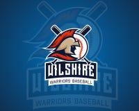 Spartan Baseball Sports Professional Logo royalty free illustration