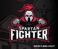 Spartan boxer fighter Stock Photos