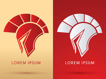 Spartan Helmet Royalty Free Stock Photography