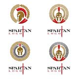 Spartan logo Royalty Free Stock Images
