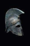 Spartan military helmet Royalty Free Stock Photos