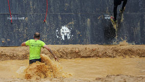 Spartan obstacle running race Stock Photography