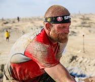 Spartan Race Dubai Royaltyfri Bild