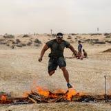 Spartan Race Dubai Royaltyfri Foto