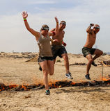 Spartan Race Dubai Stock Afbeelding
