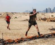 Spartan Race Dubai Stock Fotografie