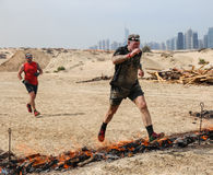 Spartan Race Dubai Photographie stock