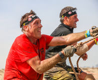 Spartan Race Dubai Royalty-vrije Stock Afbeeldingen