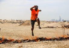 Spartan Race Dubai Image stock
