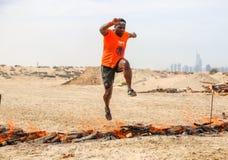 Spartan Race Dubai Photo stock