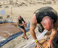 Spartan Race Dubai Royalty-vrije Stock Foto