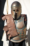 Spartan soldier uniform Stock Photo