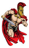 Spartan sports mascot Royalty Free Stock Images