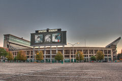 Spartan Stadium Stockbild