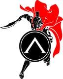 Spartan Sword Front Attack Image libre de droits