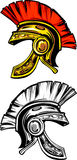 Spartan / Trojan Helmet Logo Stock Photo