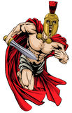 Spartan or trojan man Stock Photography