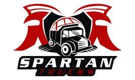 Spartan Truck global Photographie stock libre de droits