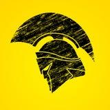 Spartan warrior helmet Stock Photography