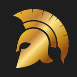 Spartan warrior Helmet Royalty Free Stock Photos