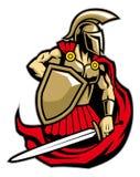 Spartan warrior royalty free illustration