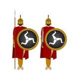 Spartan warriors-4 Stock Photography
