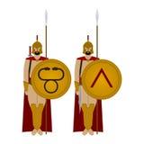 Spartan warriors-3 Stock Photography