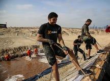 Spartanin Biegowy Dubaj Obraz Royalty Free