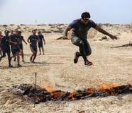 Spartanin Biegowy Dubaj Zdjęcie Stock