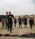 Spartanin Biegowy Dubaj Obrazy Royalty Free