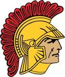 Spartanin, Trojen, wojownik/ Fotografia Stock