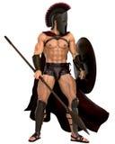 Spartanische Stellung oben Lizenzfreie Stockfotos