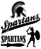 Spartans Team Mascot Fotografia de Stock Royalty Free