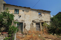 Spartilas on Corfu island Greece Royalty Free Stock Images